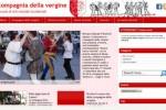 On-line il nuovo sito della compagnia della vergine.